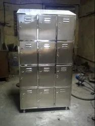 Stainless Steel 12 Door Locker