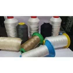 Dyed Polyester Rider Industrial & Jeans Stitching Thread, Packaging Type: Cone