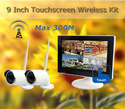 Digital Touchscreen Monitor Long Range Wireless Camera Kit