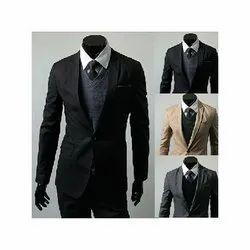 Plain Mens Corporate Office Suit