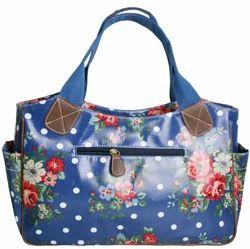 Multicolor Party Wear Floral Print Handbag