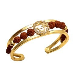 Om Rudraksha Bracelet For Men And Women
