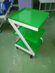 Powder Coated ECG Machine Trolley