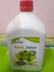 24 Months Liquid Sovam Amla Juice, Packaging Type: Bottle