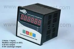 INDUSTRIAL WEIGHING CONTROLLER WITH RELAY OUTPUT