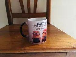 Personalised Magic Black Coffee Mug, 330 mL for Gifting Purpose