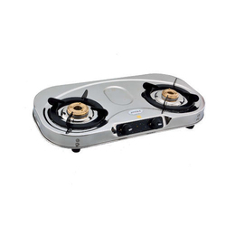 Stainless Steel Jyotika 2 Burner LPG KItchen Stove