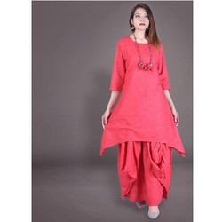 Cotton Designer Kurtis, Size: M-XL