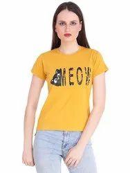 Girls Meow T-Shirt
