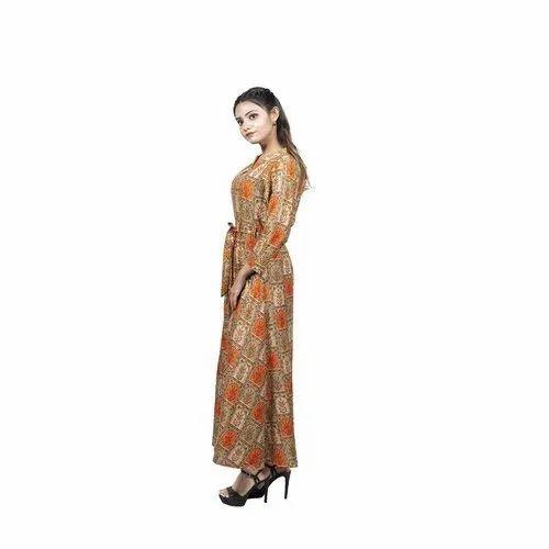 Multicolor Casual Wear Stylish Cotton Printed Kurtis, Size: S-XXL