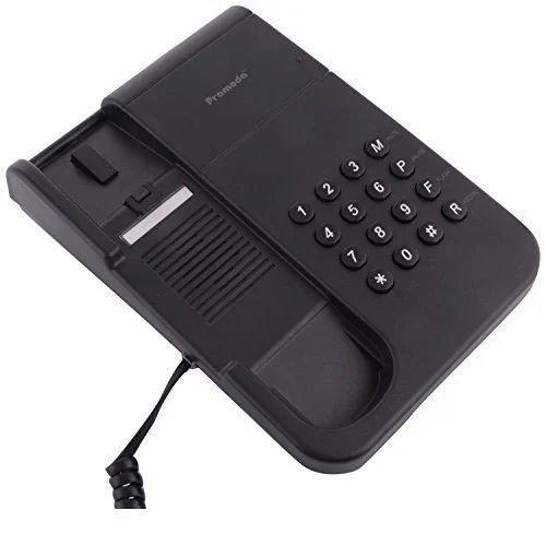 Black Pramoda Ptel PT-25 Basic Telephone, Rs 500 /piece ...