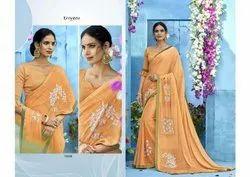 Triveni Naaz-2 Series 18501-18512 Stylish Party Wear Rangoli Saree