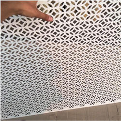 Hexagonal Perforated Sheet