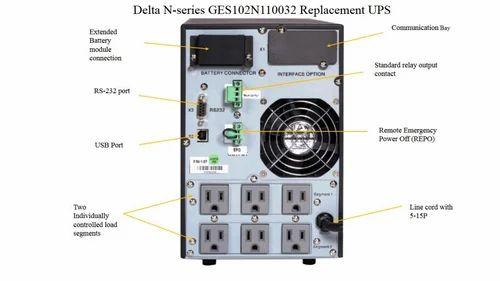 N Seires Delta UPS, Input Voltage:100-300 V, Rs 13200