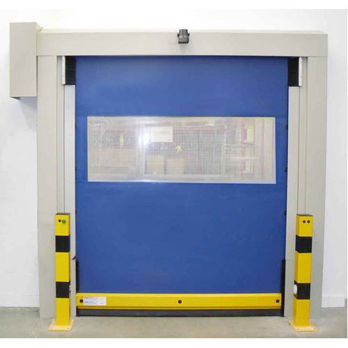 Standard Blue High Speed Door, Size/Dimension: 2000*3000 Mm, For Industrial