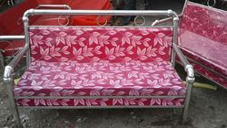 66 X 18 Inch Stainless Steel Sofa Sets Rs 10000 Set K P Enterprises Id 16792973533