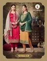 Multicolor Party Wear Alvira Designer Georgette Salwar Suit