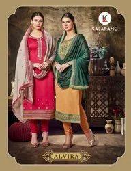 Alvira Designer Georgette Salwar Suit