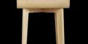 Side Table - Focus Side Stand - Natural Wood