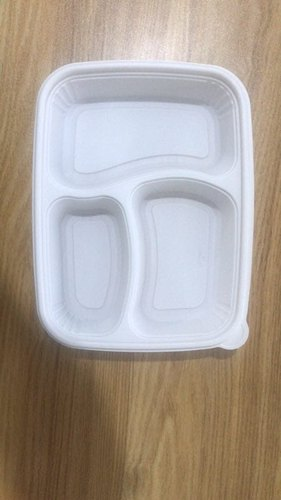Bagasse Compartment Plate
