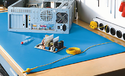Service Center Anti Static Vinyl Mat (3 Layers) Suitable for Table Top & Floor