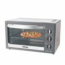 2000 Watts Borosil Oven Toaster Borosil Prima -42L Oven Toaster Griller, Capacity: 42 Liters