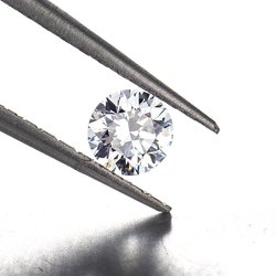 CVD Diamond 1.06ct D P1 Round Brilliant Cut HRD Certified Stone
