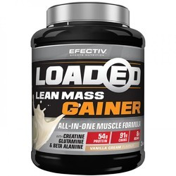 Efectiv Nutrition Loaded Lean Mass Gainer, Packaging: 3 Kg