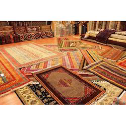 Polyester Embroidered Designer Floor Carpet