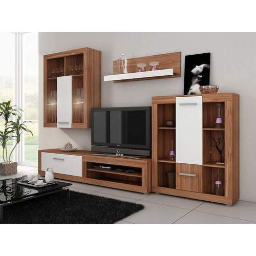 LCD Cabinet and Dining Table Set Manufacturer | Gurmukh Timber ...