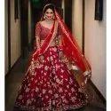 Ladies Embroidered Bridal Lehenga Choli