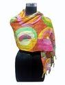 Indian Printed Cotton Kantha Ladies Scarf