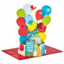 Rubber Birthday Card Balloon