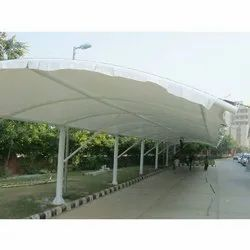 Color Coated Tensile Structure