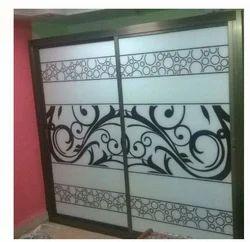 Designer Iron White Door