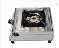 Stainless Steel SS Single Burner Gas Stove, For Kitchen