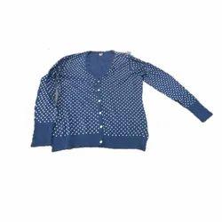 Casual Wear Ladies Winter Woolen Top, Size: M-XXL