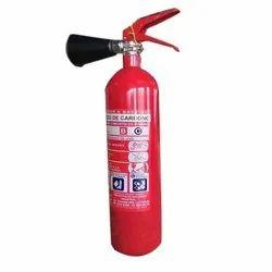 Mild Steel A B C Dry Powder Type 2 kg Fire Extinguishers, Capacity: 2Kg