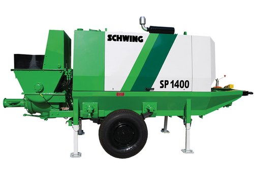 Schwing SP D1400 Portable Concrete Pump