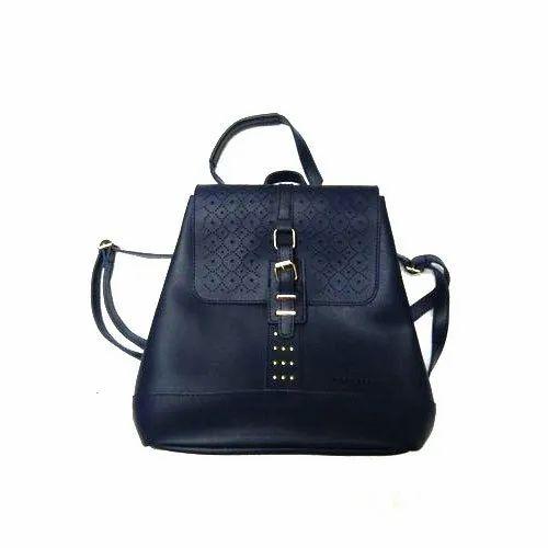 61eb9efbcbf6f Backpack,Hand Held Female Ladies Black Backpack Bag, Rs 250 /piece ...