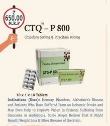Citicoline 500 Mg Tablets, 3 X10 Tabs, Packaging Type: Alu