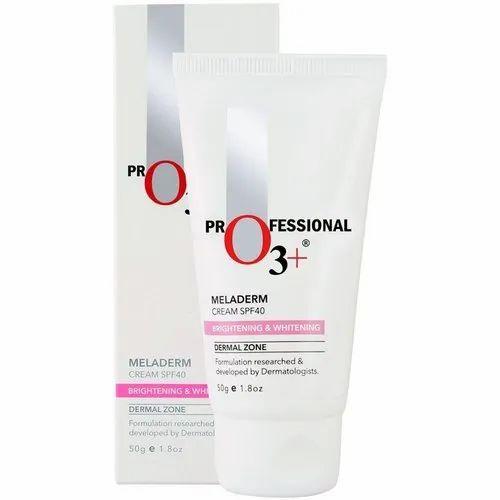 O3 Dermal Zone Meladerm Intensive Skin Brightening And Whitening Day Cream  Spf40 (50gm)