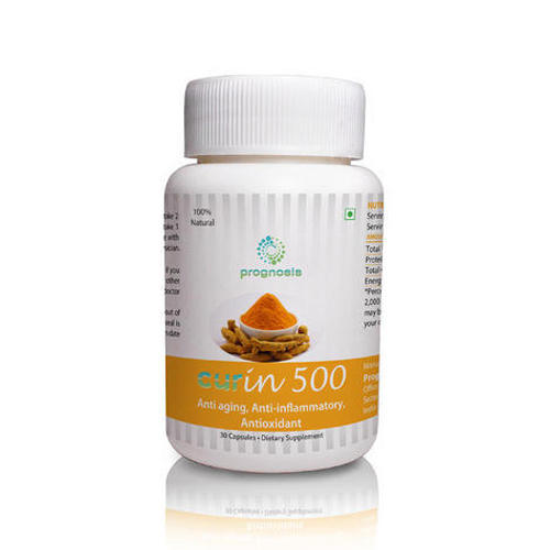 Prognosis Curin 500 Capsule, Packaging Size: 30 Capsules, Packaging Type: Bottle