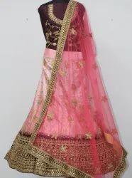 Stylish Wedding Wear Ghagra Choli