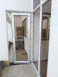 UPVC Casement Door, Door Open Style: Hinged, Glass Thickness: 5mm