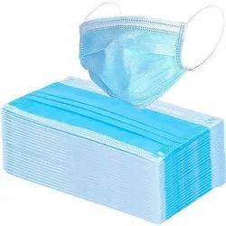 Blue Non-Woven Surgical Face Mask, Ear loop