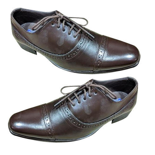 1b4e7e45c Amriwala Mens Brown Leather Formal Shoes