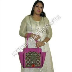 Vintage Rajasthani Banjara Leather Bag