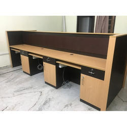 Wood Designer Computer Desk
