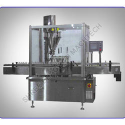 Rotary Powder Filling Machine for Dry Syrup